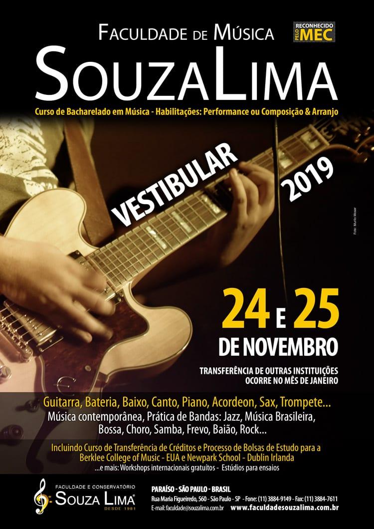 Vestibular Faculdade Souza Lima 2019