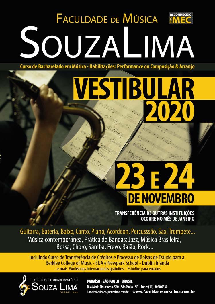 Vestibular Faculdade Souza Lima 2020
